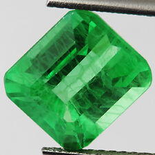 EMERALD CHATHUM 15.75ct MARVELOUS COLOMBIAN GREEN LOOSE OCTAGON 12X14MM