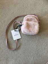 Moncler Kilia PM Real Fur Pink Color Handbag Shoulder Bag With Defect MSRP $940