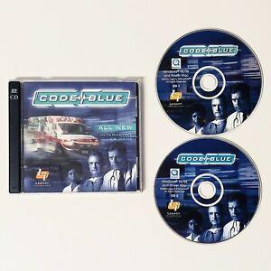 Emergency Room: Code Blue PC CDROM Game  (PC, 2000) Windows Mac