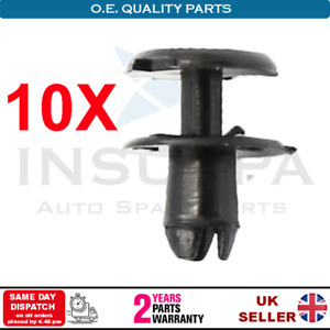 10X Front Bumper Expanding Rivets Clips For Opel Vauxhall Astra G MK4 Signum