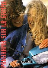 Depliant publicitaire GAMME 1995 PEUGEOT 103 SPX MVL CHRONO CLIP RCX mobylette