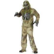 Zombie Skeleton Costume Scary Halloween Fancy Dress