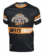 NRL Platinum Training Tee - West Tigers - Sublimated - Small To 3XL