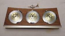 Rare-Antique Cooper  Made in america Fish Barometer Vintage excellent