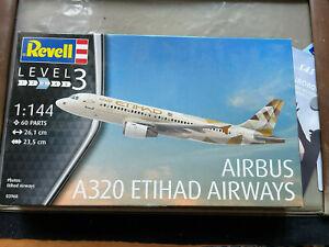 Revell Airbus A320 Etihad 1/144