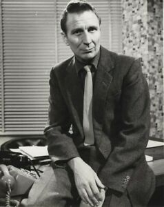 Alfred Burke as Marker PUBLIC EYE Double Weight Original Stamped 8x10 Photo