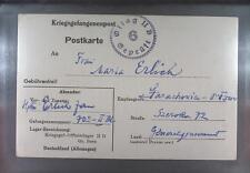 Camp Oflag IID Grossborn 1942 POW Prisoner of War Kriegsgefangenenpost (K6a)