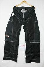 Pantalone AXO Tg.EUR52 US36 (MT191) moto da Uomo Nero Cross Enduro motocross