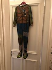 Teenage Mutant Ninja Turtle Costume Size Medium (age 8-10