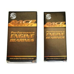 ACL Race Main & Rod Bearings for 89-92 Mitsubishi Eclipse 4G63 4G63T 6-Bolt DSM