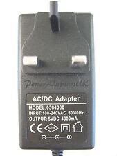 1200MA/1.2A 5V AC/DC MAINS UK SWITCH MODE POWER ADAPTOR/SUPPLY/PSU/CHARGER