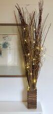 Pantalla Completa-Brown Sauce Luces De Alto (20 Luces LED cálido) Bodas Navidad