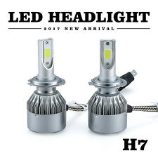 Pair 72W 8000LM H7 6000K Car LED Headlight Kit Conversion Beam Bulbs White Lamp