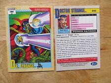 1991 IMPEL MARVEL UNIVERSE II DR. STRANGE CARD SIGNED ART ADAMS, WITH POA
