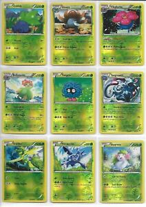 Pokemon Full Reverse Foil Set  (130 Cards) (B&W Boundaries Crossed)