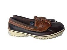 LL Bean Womens Duck Boots Bar Har Rubber Rain Boots Tek 2.5 Waterproof Sz 11 EUC