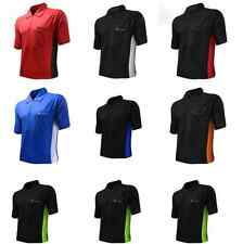 Coolplay Hybrid Darts Shirt by Target - Dual Colour Cool Play Polo 8 Sizes Black Red Large