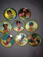 Lot Of 8 Topps Co Inc Baseball Coins # 2 45 60 54 39 17 34 Brett Mc Guire 1989
