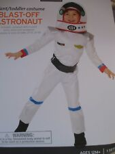 NEW Toddler Boys Halloween Costume Muscle Chest Blast Off Astronaut Size 12-24M