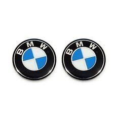 2 Bmw Clé Logo 11 mm Lettrage Emblème 1 3 4 5 6 7 M X Key Autocollant fob