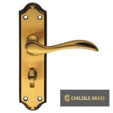 CARLISLE BRASS MADRID LEVER BATHROOM HANDLES IN BRASS FINISH (DL192FB/BP) - NEW