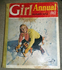 Girl Annual Number 9 1961, Edited By Clifford Makins