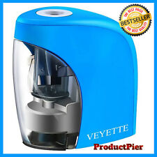 Electric Pencil Sharpener For Kids Desk Portable Battery Amp Usb Operated Blue
