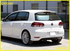 VW GOLF VI MK6 REAR/ROOF SPOILER (2008-2012) ABS PLASTIC