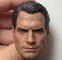 1/6 Scale Henry Cavill Head Sculpt For Hot Toys Body Regular HW/O Neck