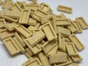 New - Lego 100 Tan Ingot / Bar - 99563