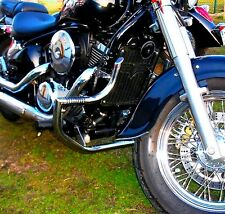 Acciaio Inox Custom Paramotore Protezione Motore + Pedane Kawasaki VN 800 Vulcan