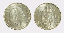pci4580) Netherlands  Juliana - 1 gulden  1964 silver