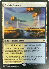 1x PRAIRIE STREAM - Dual Land Battle for Zendikar MTG - NM - Magic the Gathering