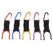 5pcs Carabiner Water Bottle Buckle Hook Holder Clip For Camping Hiking Useful