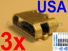 3x Micro USB Charging Port Charger For Motorola Google Nexus 6 XT1100 XT1103 USA
