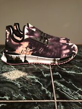 Puma Avid Evoknit City Punch 367844 01 Black/Salmon Tie Dye Size 12 shoes