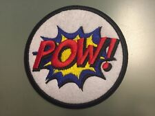 """POW! COMICS BD EMOTIONS Patch - Embroidered Iron On Patch 3 """""""