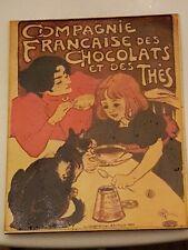 Vintage Art Nouveau Large Advertising Picture Tile (A15)