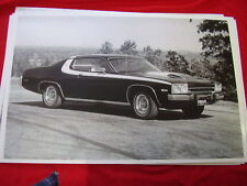 1974   PLYMOUTH ROAD RUNNER   11 X 17  PHOTO /  PICTURE