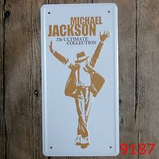 Metal Tin Sign michael jackson Bar Pub Home Vintage Retro Poster Cafe ART