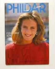 Revue de mode Catalogue de tricot - PHILDAR Mailles n°150 - 1987 - 55 modèles