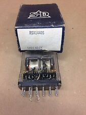 Struthers Dunn Dunco S-D Relay RSX1440S 120V 60 Cy RSX1440-S New Old Stock