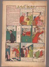 LISETTE 1939 .N°36.AU DOS JACKIE. TEXTES ET DESSINS DE GEORGES BOURDIN  BE