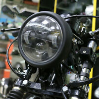 Super Bright 6.5'' Inch Motorcycle Matte Black LED Headlight High/Low Beam Light