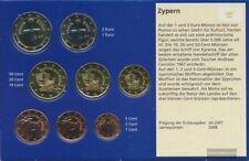 Chypre 2017 Stgl./unzirkuliert Kursmünzensatz 2017 euro-après enquête