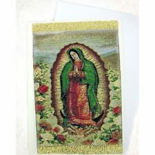 Lady of Guadalupe Tapestry Icon Greeting Card w/Envelope - Icon Can Be Framed