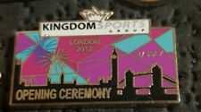 London 2012 Olympic Games: Opening Ceremony (dated) Kingdom Sports Group  pin
