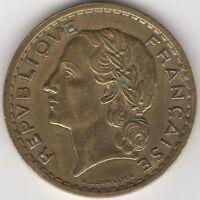 1945 C France 5 Francs 'Open 9' | European Coins | Pennies2Pounds