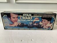 STAR WARS ELECTRONIC LASER BATTLE GAME MISB UNUSED VINTAGE KENNER 1977 ANH LUKE