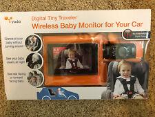 "Yada BT53901F-2 Digital Tiny Traveler Wireless Baby 4.3"" Monitor for Vehicle/Car"